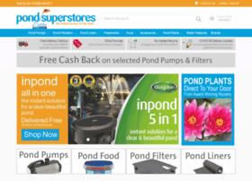 pondsuperstores.com