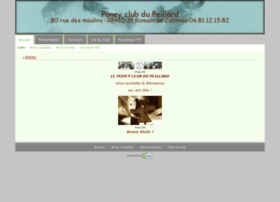 poneyclubdupeillard.ffe.com