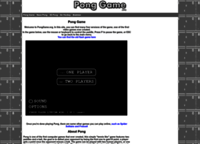 ponggame.org