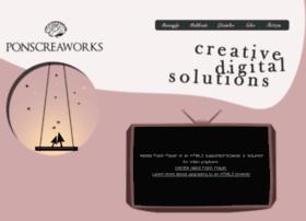 ponscreaworks.com