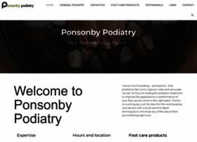 ponsonbypodiatry.co.nz