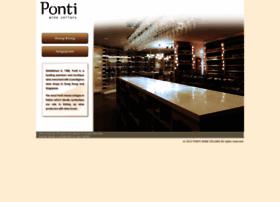 pontiwinecellars.com