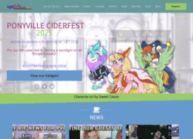ponyvilleciderfest.com