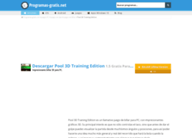 pool-3d-training-edition.programas-gratis.net