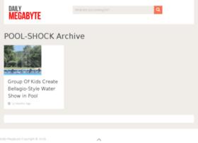 pool-shock.dailymegabyte.com