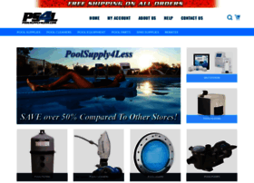 poolsupply4less.com