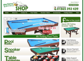 pooltablesshop.co.uk