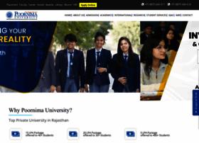 poornima.edu.in