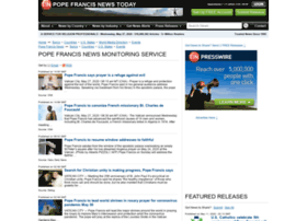 popefrancis.einnews.com