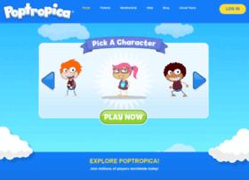 poptropica-games.com