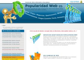 popularidadweb.es