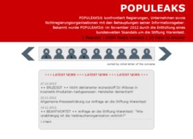 populeaks.org