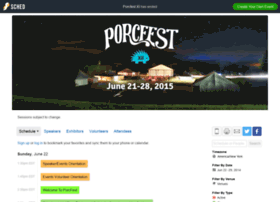 porcfest.sched.org
