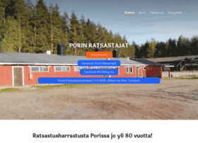 porinratsastajat.fi
