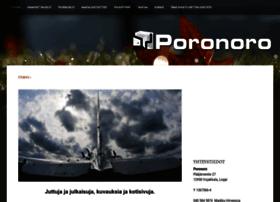 poronoro.fi