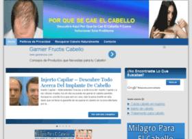 porquesecaeelcabello.com