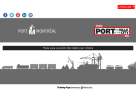 port-montreal.wantickets.com