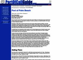 port.of.palm.beach.portofcallguide.com