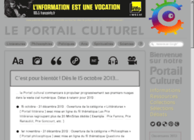 portailculturel.org