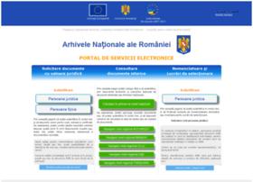 portal.arhivelenationale.ro