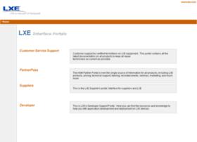 portal.lxe.com