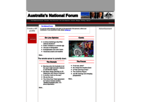 portal.nationalforum.com.au