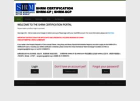portal.shrmcertification.org
