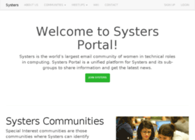 portal.systers.org