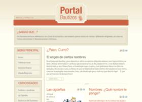 portalbautizos.com