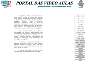 portaldasvideoaulas.com.br
