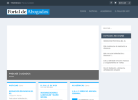 portaldeabogados.com.ar