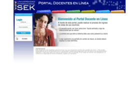 portaldocentes.uisek.edu.ec