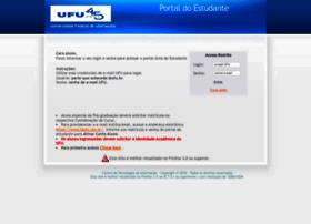 portalestudante.ufu.br