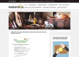 portalmatarranya.es