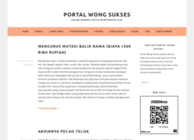 portalwongsukses.wordpress.com