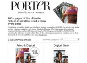 portersubscription.net-a-porter.com
