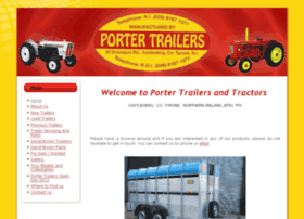 portertrailers-tractors.co.uk