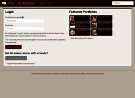 portfolio.du.edu