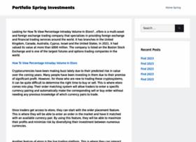 portfoliospring.com