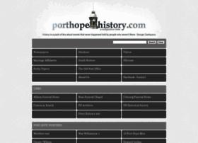 porthopehistory.com