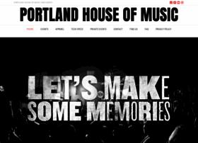 portlandhouseofmusic.com