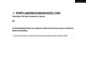 Portlandneighborhood.com