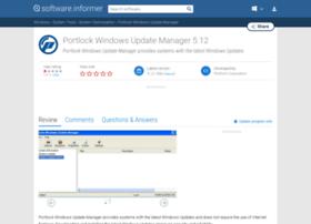 portlock-windows-update-manager.software.informer.com