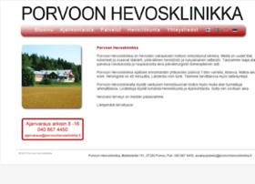 porvoonhevosklinikka.fi