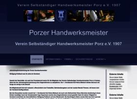 porzer-handwerk.de