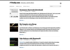 porzky.com