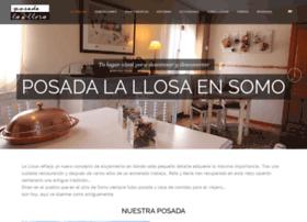 posadalallosa.com