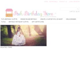poshbirthdaystore.com