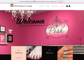 poshpedicurelounge.com