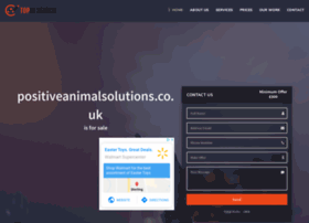 positiveanimalsolutions.co.uk